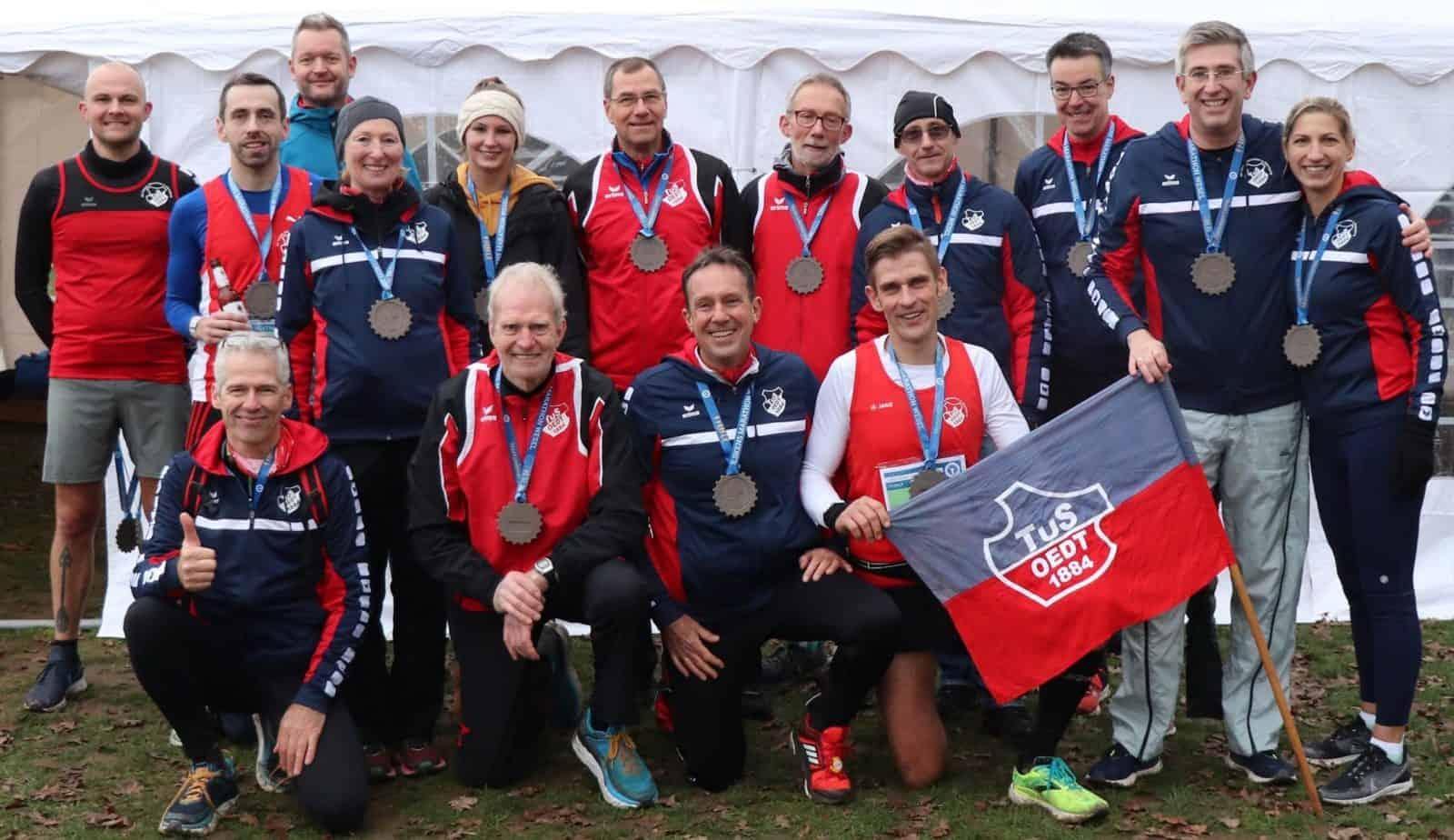 Vielversprechender Jahresauftakt 2020 beim 1. Wesel Marathon