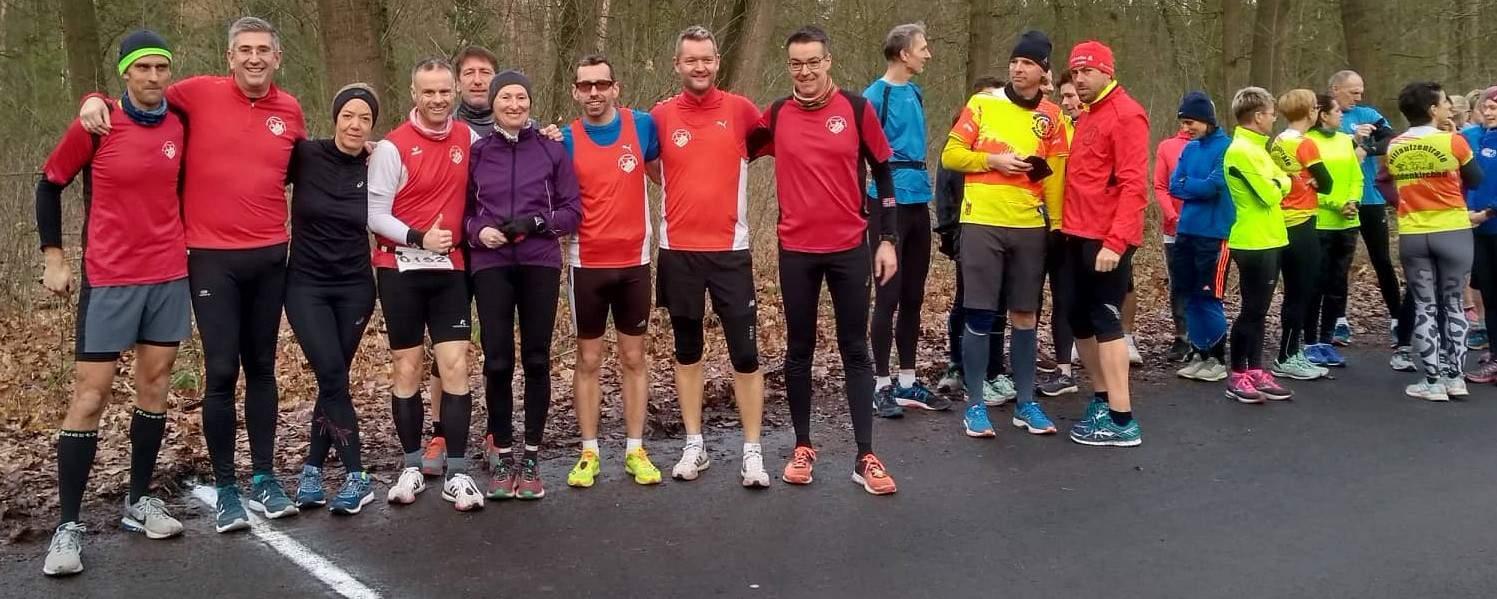 10 km Lauf der Nettetaler Trotzdem Lauf Serie am 11.01.20