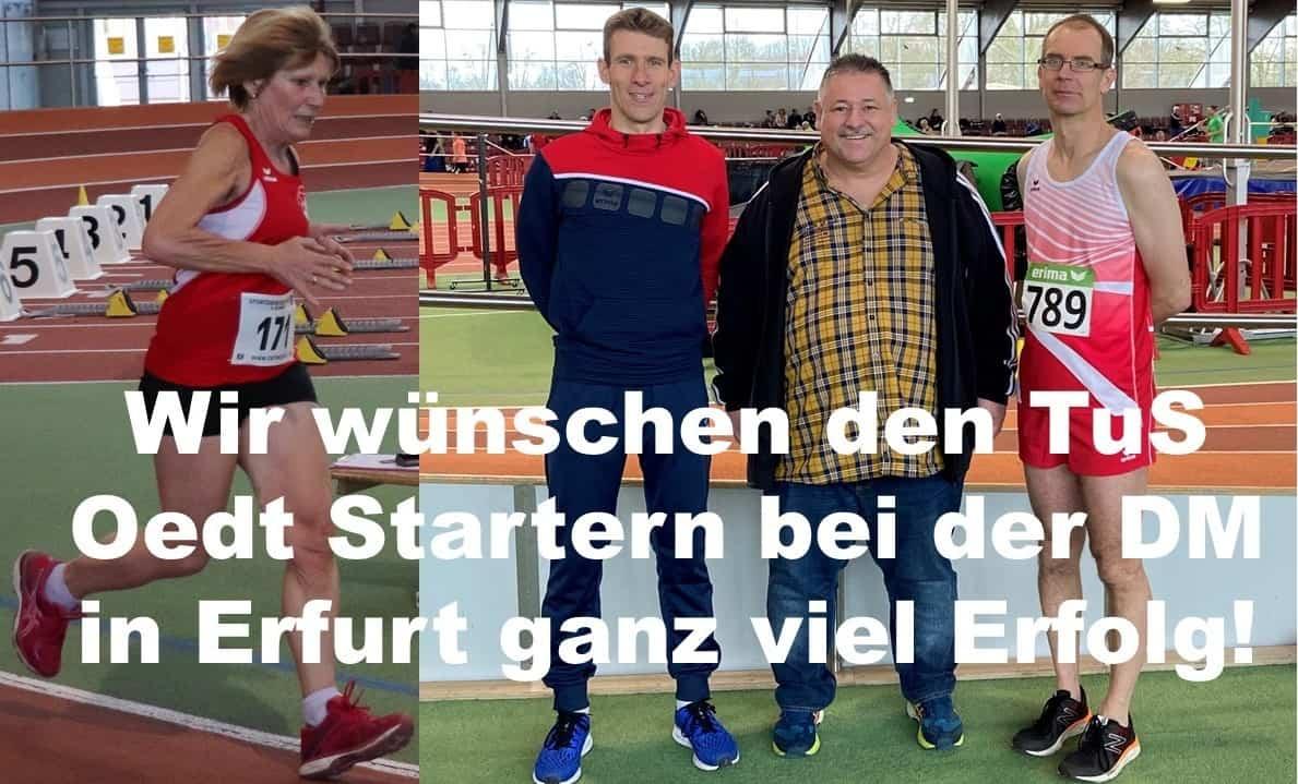 Deutsche Meisterschaften Senioren Leichtathletik in Erfurt