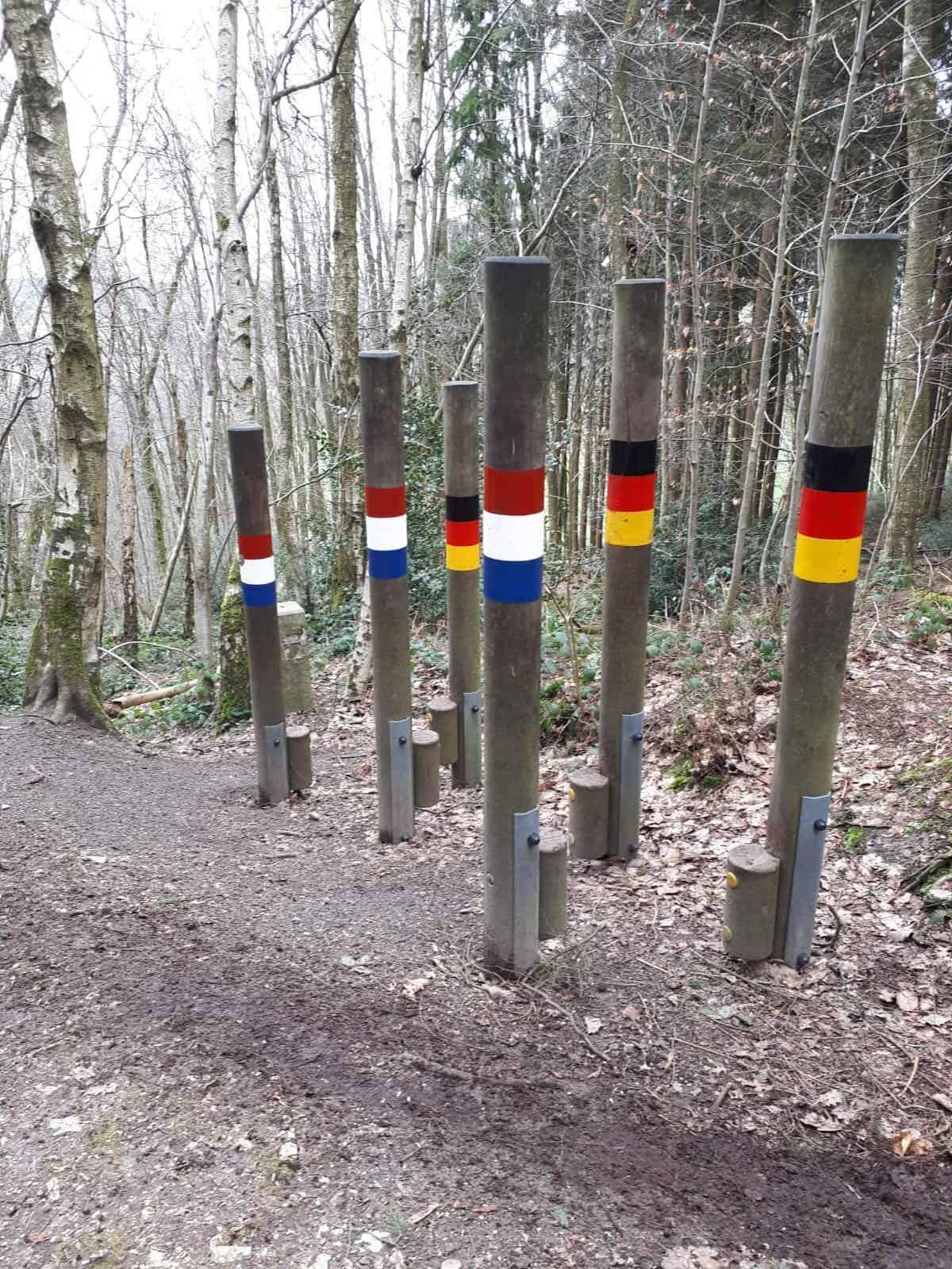 Nachtrag: Sabine beim Trailrunning in Vaals