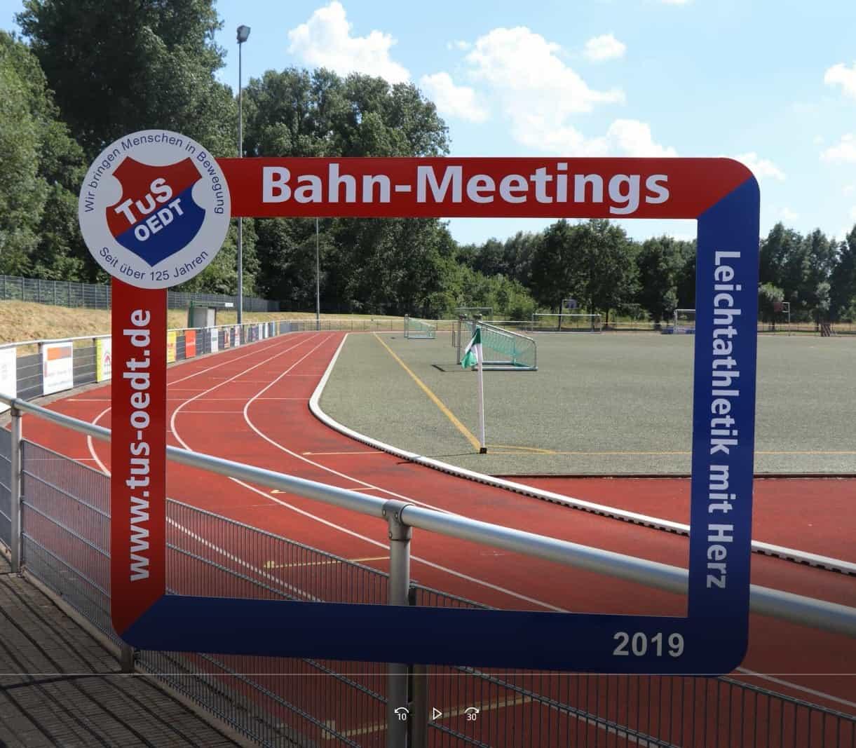 Erinnerungen an die Bahneröffnung 8. Mai 2019