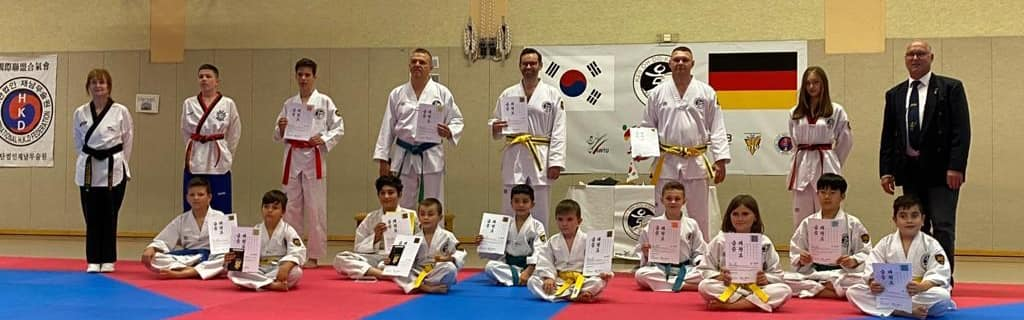 Thilo Möller absolvierte am 05. Oktober 2020 Taekwondo-Prüfung